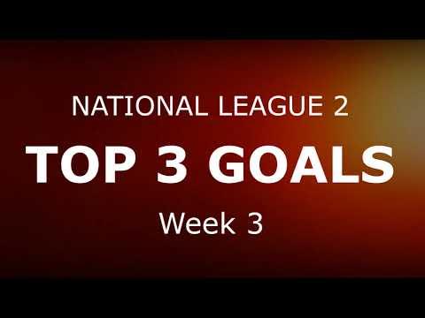 National League 1&2 - Top 3 Goals (Week 3)