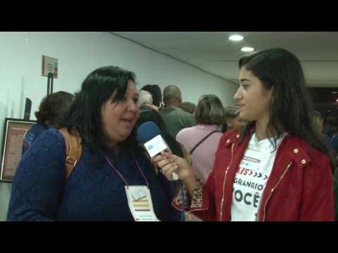 Entrevista na Festa Literária de Duque de Caxias em 2016