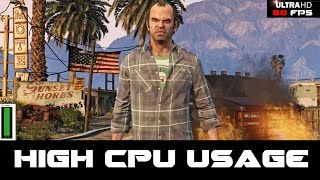 Is GTA 5 causing High CPU usage?  Consider using Nvidia inspector or AMD to cap your max FPS.  http://www.guru3d.com/files-details/nvidia-inspector-download.htmlI capped my game at 60 FPS and cpu usage has halved.  Want to know all about my channel and how to support me?http://www.gamingwithmatteo311.com/support.htmlGamingWithMatteo311Live Streams, Reviews, Let's Plays, Guides and funny content!Check me out on http://www.gamingwithmatteo311.com/http://www.twitch.tv/matteo311https://twitter.com/matteo311https://www.facebook.com/GamingWithMatteo311http://steamcommunity.com/id/matteo311Looking for other giveaways, news, games deals or trades?  Check out the Opium Pulses website and steam groupshttp://www.opiumpulses.com/Giveaways - http://www.gamingwithmatteo311.com/giveaways.htmlhttp://steamcommunity.com/groups/OpiumPulsesGiveawaysNews - http://steamcommunity.com/groups/OpiumPulsesNews Deals - http://steamcommunity.com/groups/OpiumPulsesSavingsTrades - http://steamcommunity.com/groups/OpiumPulsesTradingContact me - administrator@gamingwithmatteo311.com