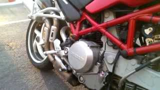 10. Ducati Monster S2R 800 Oil change SAVE $$ Do it Yourself