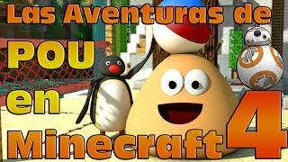 Pou, la mascota de los smartphones, sigue con sus aventuras en Minecraft. ¡Bienvenidos al cuarto capítulo de las Pou Adventures!¡No te pierdas el paso de Pou por Minecraft y sus increibles aventuras! Con Pingu y un invitado especial, el simpático robot BB-8 de Star Wars!Y es que ya hace calor y es hora de darse un paseo por la playa y de paso jugar al volleyball como en el juego original! ¿Será un paseo tranquilo? No lo creo, Pingu y BB-8 no se lo pondrán fácil a Pou!¡Quedaos hasta el final y lo comprobareis!