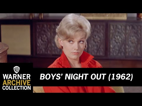 Boys' Night Out (1962) – Making Out With Kim Novak