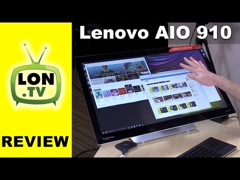 Lenovo AIO 910 Review - All in One 27