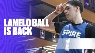LaMelo Ball Is BACK and Showed Out Against Springdale Prep - Full Highlights by Bleacher Report