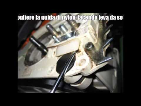 Stihl MS 250 sostituzione pompa olio (replacing oil pump)