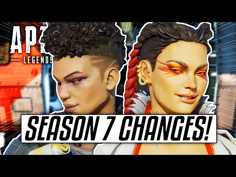 Apex Legends SEASON 7 - FINAL MAJOR CHANGES & LEAKS! (Olympus, New Gun & More)