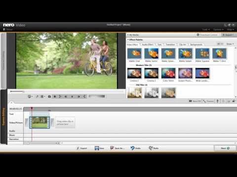 Nero 2014 – Express Film Effects in Nero Video