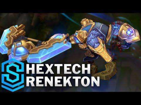 Renekton Công Nghệ - Hextech Renekton