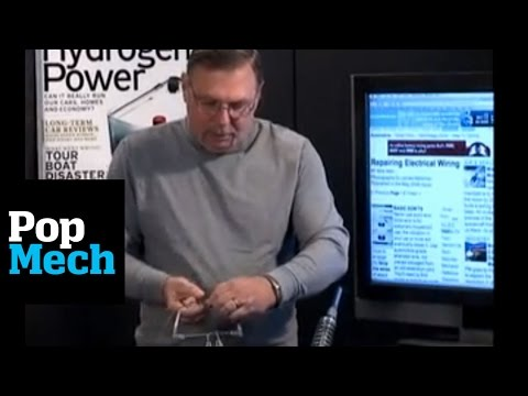 How to solder - Popular Mechanics senior automotive editor Mike Allen demonstrates the fundementals of soldering a wire together. It's a lot easier than you think. For more ...