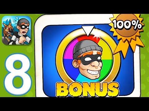 Robbery Bob - Gameplay Walkthrough Part 8 - Chapter 8: Bonus (iOS, Android)