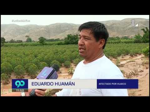 Cerro Azul: advierten más lluvias y deslizamientos