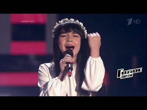Дениза Хекилаева «Вера» - Слепые прослушивания - Голос.Дети - Сезон 4 (видео)