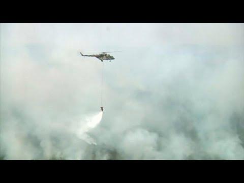 Russland: Erste Erfolge bei Waldbrandbekämpfung in Si ...