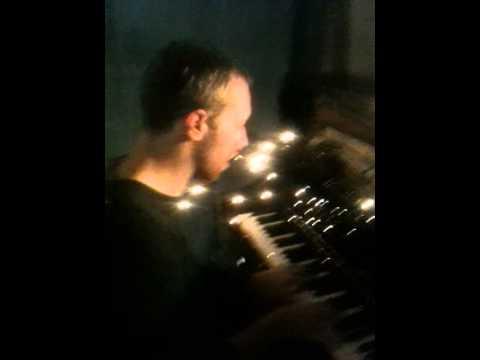 Chris plays Christmas Lights