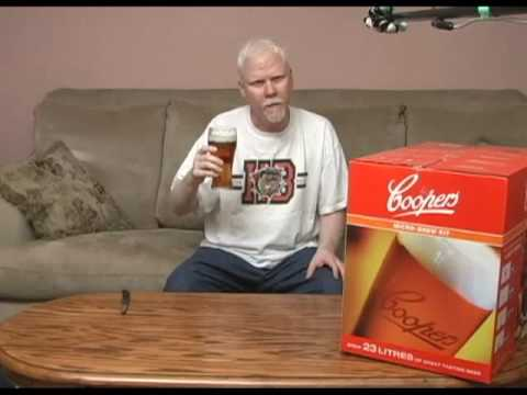 Coopers Micro Brew kit unboxing