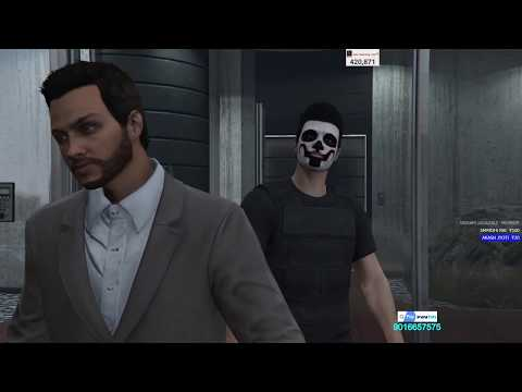 [Hindi] GRAND THEFT AUTO V | THE HUMAN LAB RAID HEIST#12