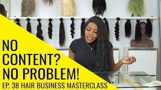 SAVE TIME BY BATCHING: How To Post If You Have NO CONTENT | Hair Business Masterclass Ep. 38 by The Weed Show with Charlo Greene