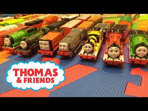 รถไฟการ์ตูน - 【รถไฟของเล่น】12 โทมัสและเพื่อนรถไฟ Tomica World : Takara TOMY Plarail タカラトミー プラレール Like our Facebook page at : https://www.facebook.com/takaratomyvideo.