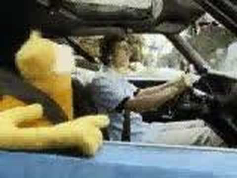Flat Eric Car Ride Commercial