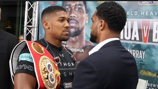 ANTHONY JOSHUA v BREAZEALE - HEAD TO HEAD