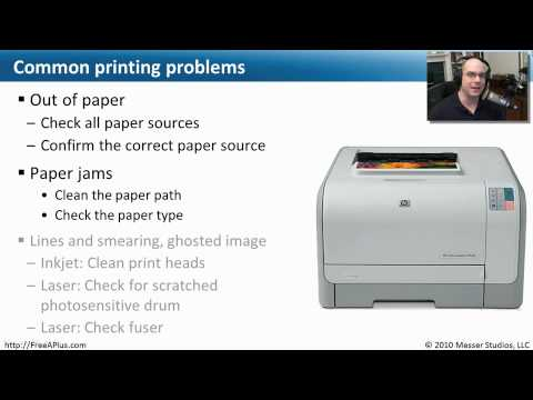 Troubleshooting Printer Problems - CompTIA A+ 220-702: 1.5