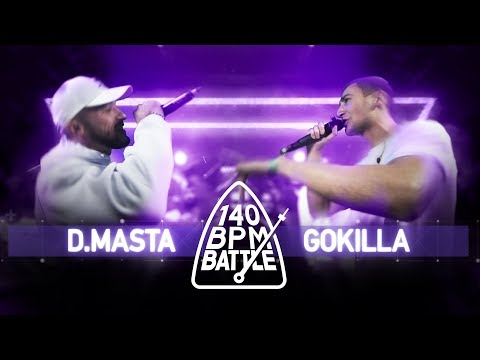 140 BPM Battle: D.Masta vs. Gokilla