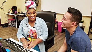 Mexican Singer Travels to Italy for Vocal Coach (EN subs)