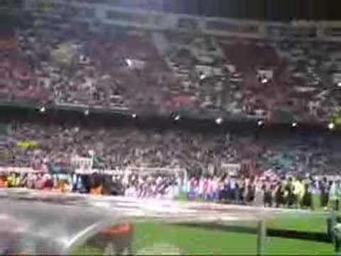 Recuerdos en Vicente Calderón