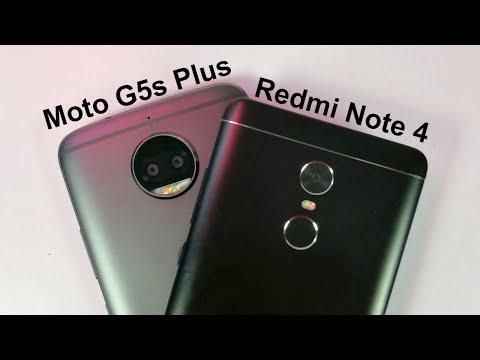 Moto G5s Plus vs Redmi Note 4 Comparison