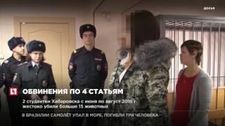 Хабаровским живодеркам предъявили окончательные обвинения