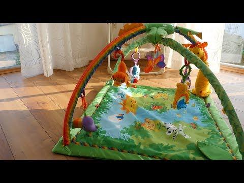 Mattel K4562 - Fisher-Price Rainforest Erlebnisdecke im TEST // krabbeldecken-vergleich.de