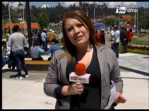 Alcalde Palacios inauguró parque San Marino