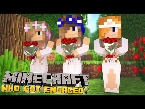Minecraft-The Big Engagement-WHICH PRINCESS IS GETTING MARRIED?!