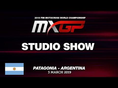 Studio Show MXGP of Patagonia - Argentina 2019 - Thời lượng: 30 phút.