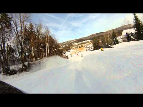 Bromley and Mount Snow Ski Edit 2/8/14