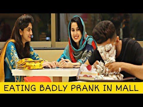 Eating Badly Prank | Prank In Pakistan