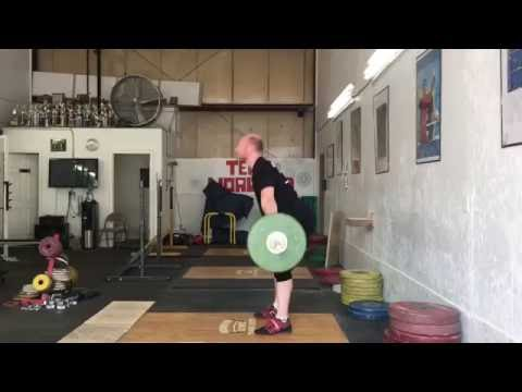 Snatch grip RDL