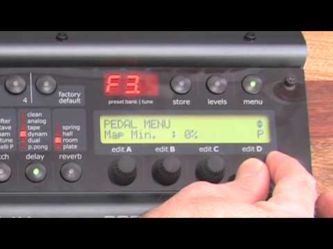 Nova System - How to assign a controller pedal