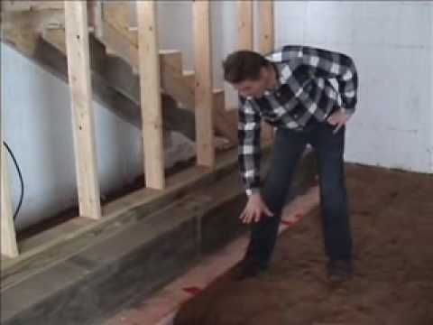 Passive House in the Woods – Basement progress tour