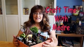 DIY : Fairy Garden - YouTube