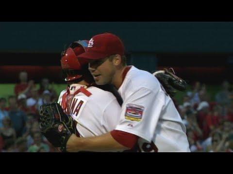 Video: Chris Carpenter finishes off third shutout of 2005