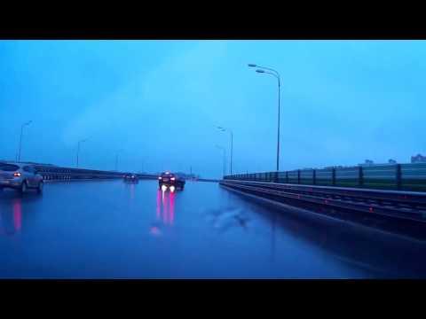 Авария 14 04 2014 на платной дороге в Одинцово