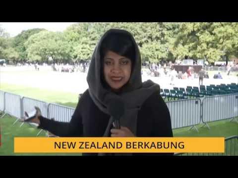"""New Zealand Berkabung: """"Solat Jumaat tanpa ada apa-apa ketakutan"""" - Warga New Zealand"""