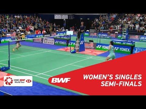 WS  Beiwen ZHANG USA 1 vs Aya OHORI JPN 4  BWF 2018