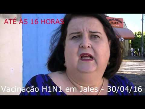 Jales - Começa a campanha de vacinação do H1N1 em Jales.