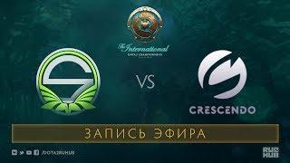 Team Singularity vs Crescendo, The International 2017 Qualifiers [Mortalez]