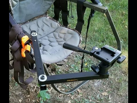Treestand Mounted Camera Arm