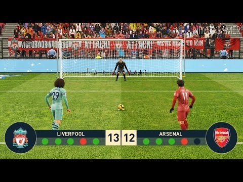 LIVERPOOL VS ARSENAL | Penalty Shootout | PES 2019 Gameplay PC