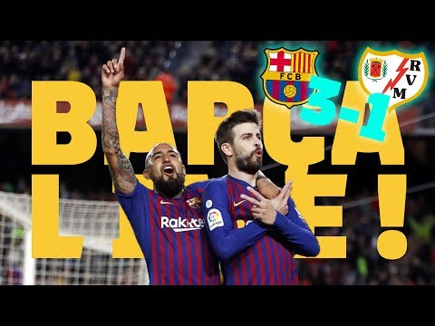 #BarçaRayo (3-1) |  BARÇA LIVE | Warm Up & Match Center🔥