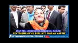 Başkan Murat Aydın'a Sümerde Sevgi Selli